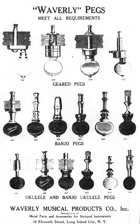 Fairbanks Vega Banjos Specifications
