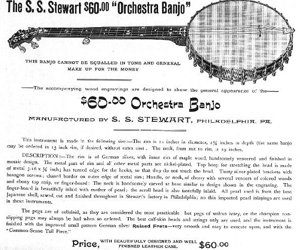 Identifying SS Stewart Banjos